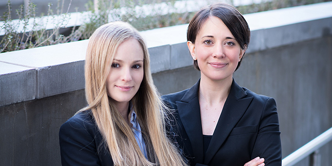 Shira Zeman and Rachael Petterson, immigration lawyers based in Arlington, Virginia
