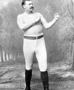 "Famous 19th century Irish-American boxer Paddy Ryan, who was often referred to as the 	""Heavyweight Champion of America"""